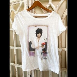 Prince Graphic tee medium white